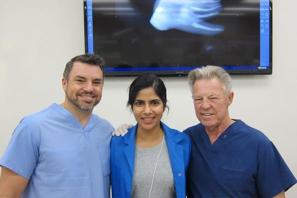 With Dr Jordan and Dr John West at IDEA, San Francisco for Mini Residency in Endodontics Course